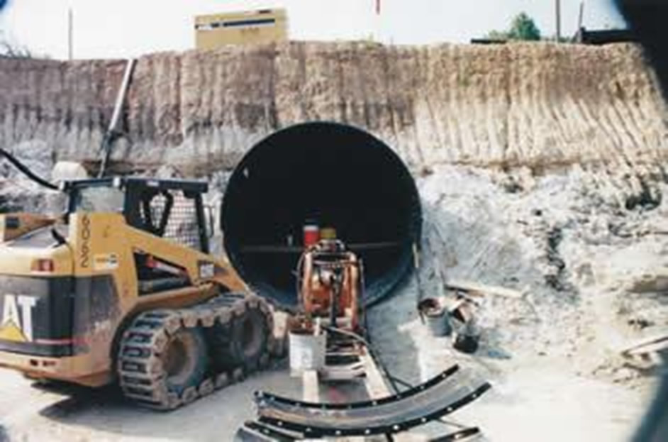 "CSX Railroad – 108"" Plate Arch Tunnel"